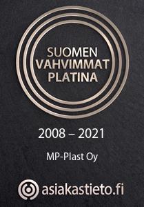 MP-Plast - Suomen vahvimmat Platina